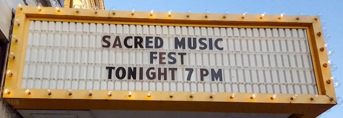 Sacred Music 04 062116