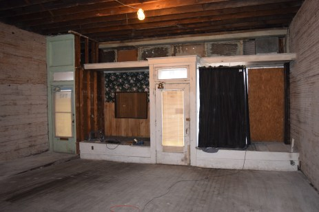 Main entrance, front room