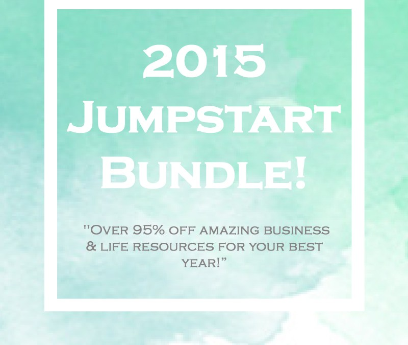 2015 JumpStart Bundle : Day 5 – #12DaysGiveaway