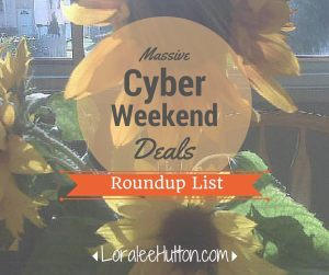 Cyber Weekend Deals List
