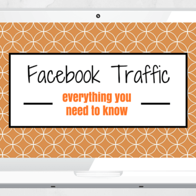 Laptop- Facebook Traffic