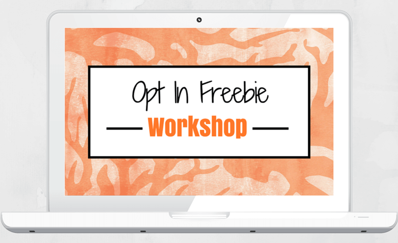 opt in freebie workshop loralee hutton
