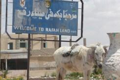 Rafah border between Egypt and Gaza