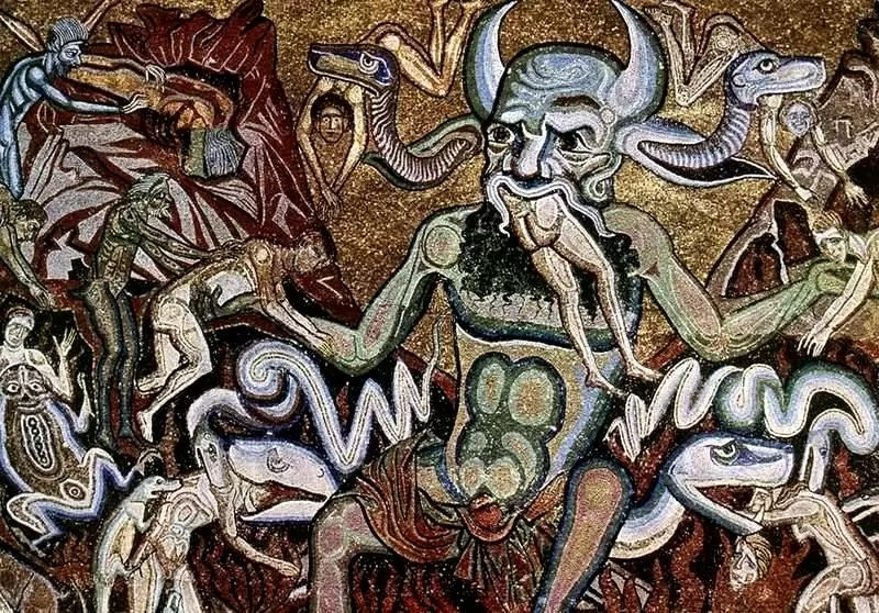 Un tableau décrivant le monde astral.