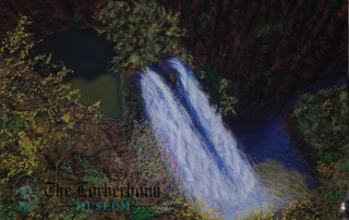 Lorberboim Soft Pastel Painting. Nahal Ayun.