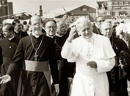 John Paul II with Derek Worlock