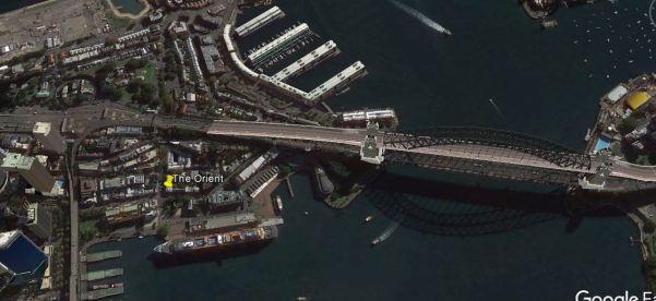 The Rocks, The Bridge and the Overseas Terminal