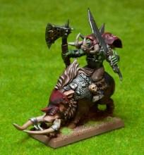 Orc Boss on Boar