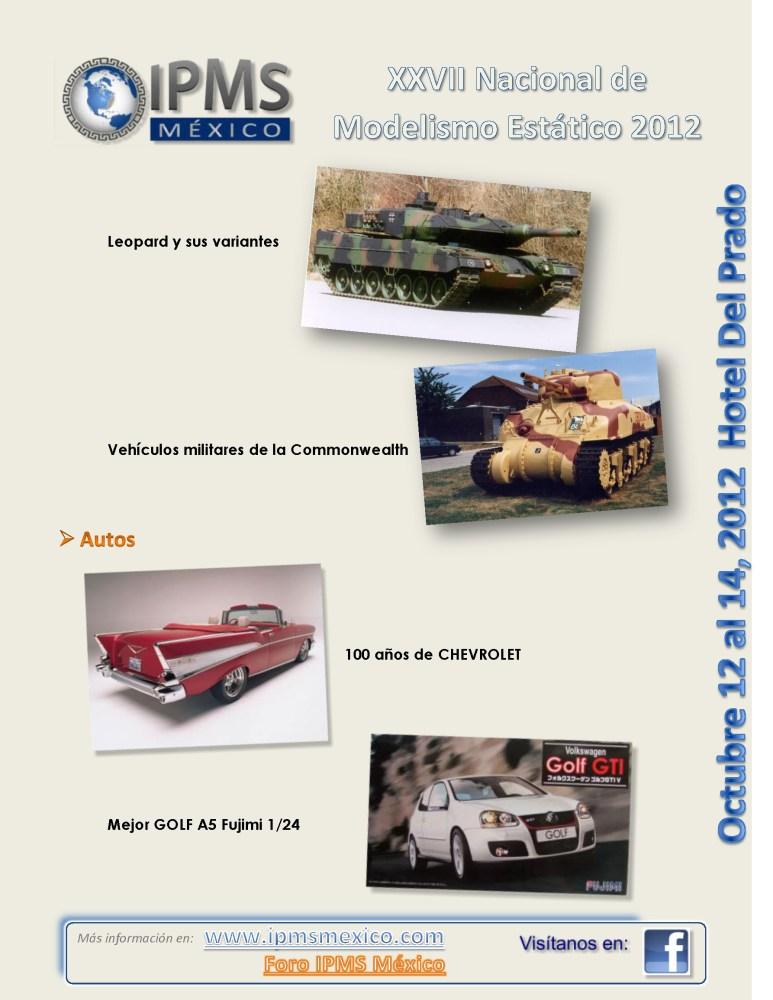 XXVIII Convención Nacional de Modelismo Estático IPMS 2012 (6/6)