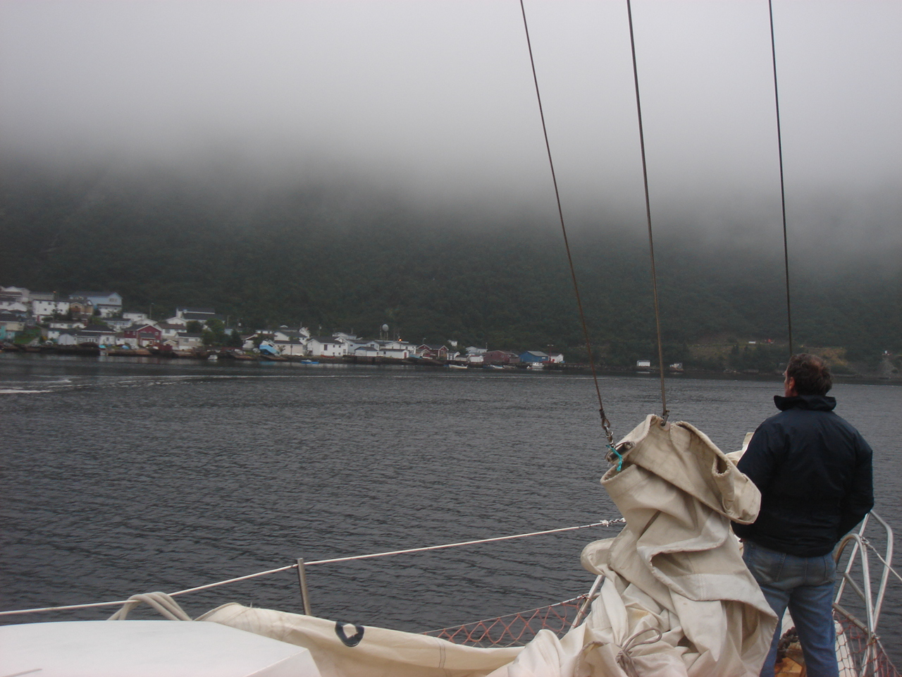 fog, gale, or doldrums...take your pick!
