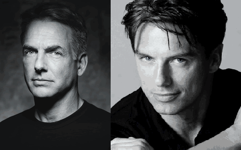 Mark Harmon and John Barrowman
