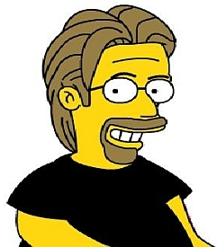 Dave, Simpsonized