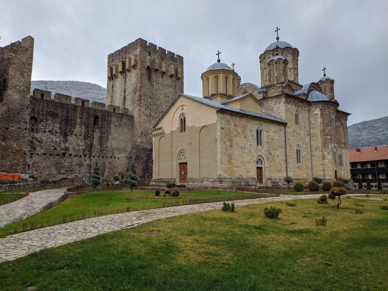 Monastery Manasija, a place for missionaries in South Europe