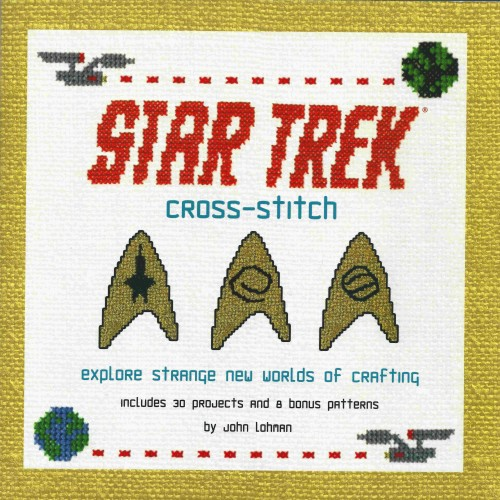 Star Trek Cross Stitch Book Cover by John Lohman and Lord Libidan