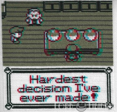 3D Pokemon Choice Cross Stitch