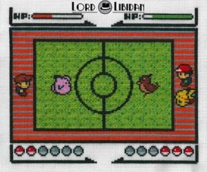 Pokemon Battle! Cross Stitch