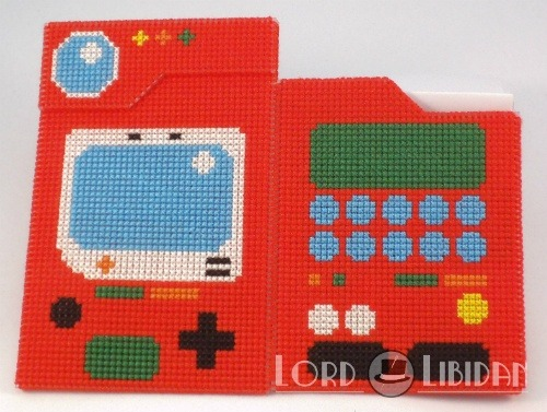 3D Pokedex Cross Stitch by Lord Libidan