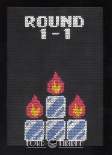 Fire n Ice Cross Stitch
