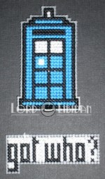 Got Milk Magnets Cross Stitch – Doctor Who