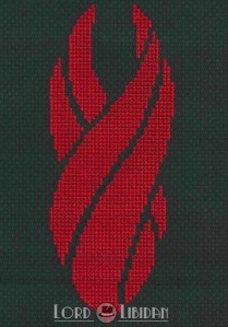 Dead Space Marker Cross Stitch