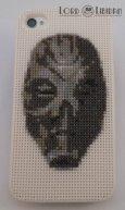 Skyrim Dragon Priest Mask Iphone Case Cross Stitch