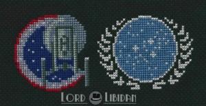 Star Trek Insignia Cross Stitch