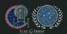 Star Trek Insignia Cross Stitch