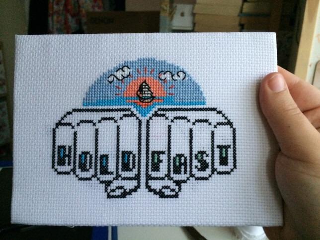 How To Frame Cross Stitch Lord Libidan
