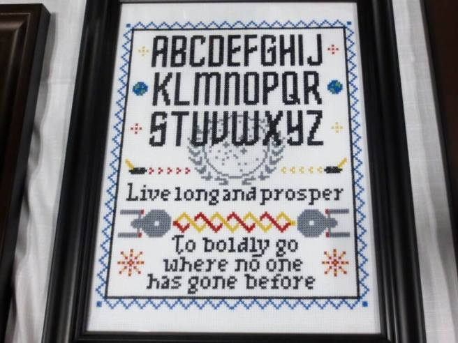 star trek sampler cross stitch