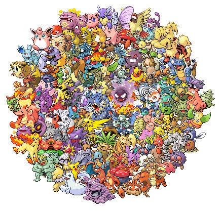free epic pokemon cross stitch pattern
