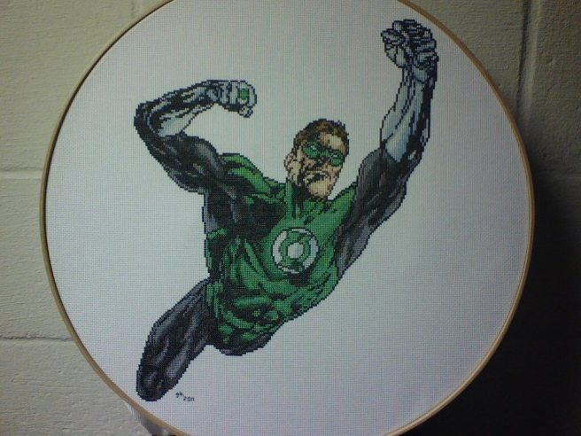 green_lantern_cross_stitch_by_saber
