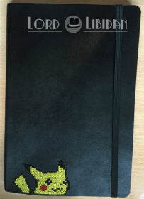 Pikachu Notebook Cross Stitch