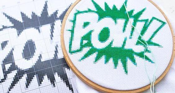 POW Cross Stitch (source: Etsy.com)