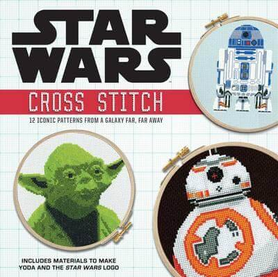 Cover of the Star Wars Cross Stitch Book by Lord Libidan (source: Amazon)