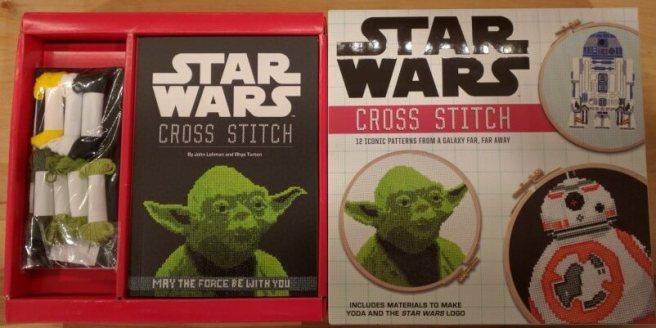 Inside of the Star Wars Cross Stitch Book by Lord Libidan