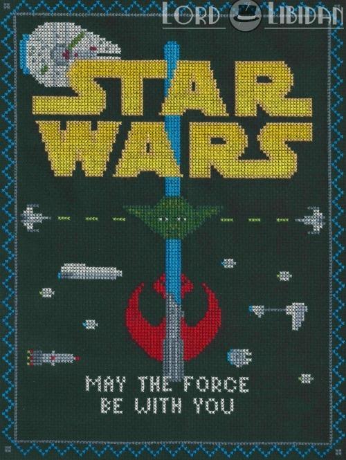 Star Wars Light Side Sampler Cross Stitch