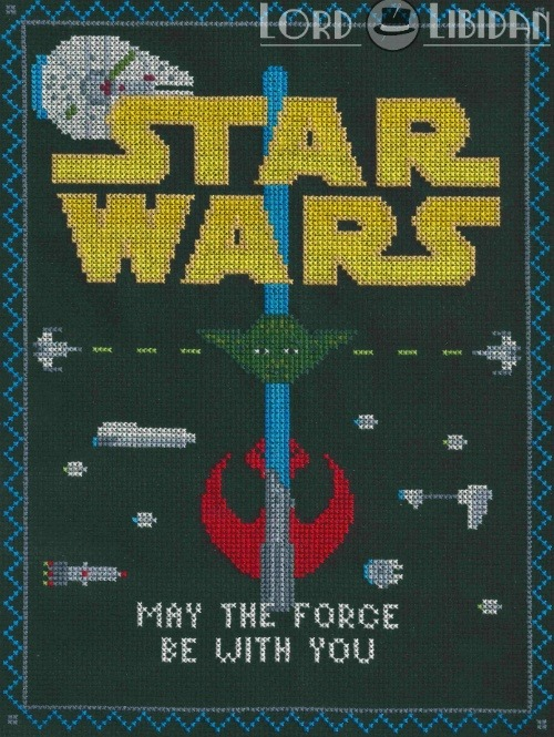 Star Wars Light Side Sampler Cross Stitch