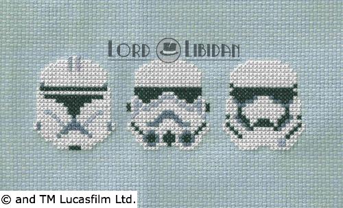 Star Wars Troopers Cross Stitch