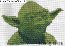 Star Wars Yoda Cross Stitch
