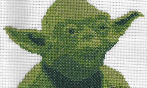 Star Wars Yoda Cross Stitch by Lord Libidan