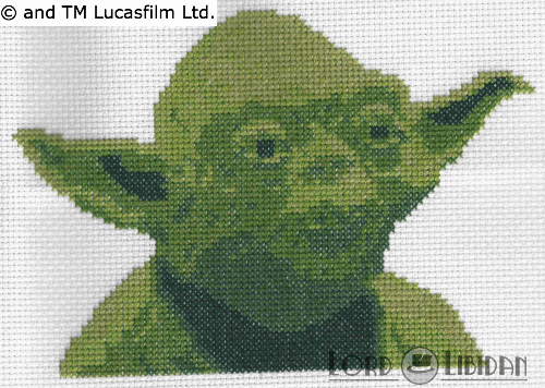 Star Wars Yoda Cross Stitch