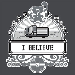 I Beleive In Mew Tshirt Design (source: Google Images)