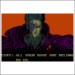 all your base are belong to us cross stitch pattern