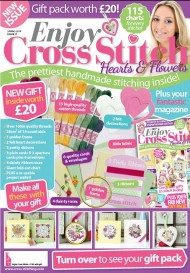 enjoy cross stitch magazine cover