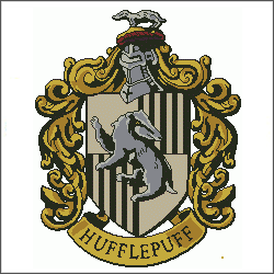 harry potter hufflepuff v3 cross stitch pattern