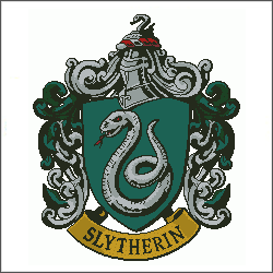 harry potter slytherin v3 cross stitch pattern