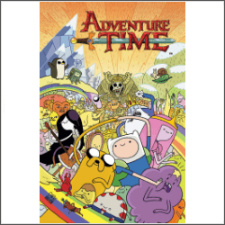 adventure time cover free cross stitch pattern