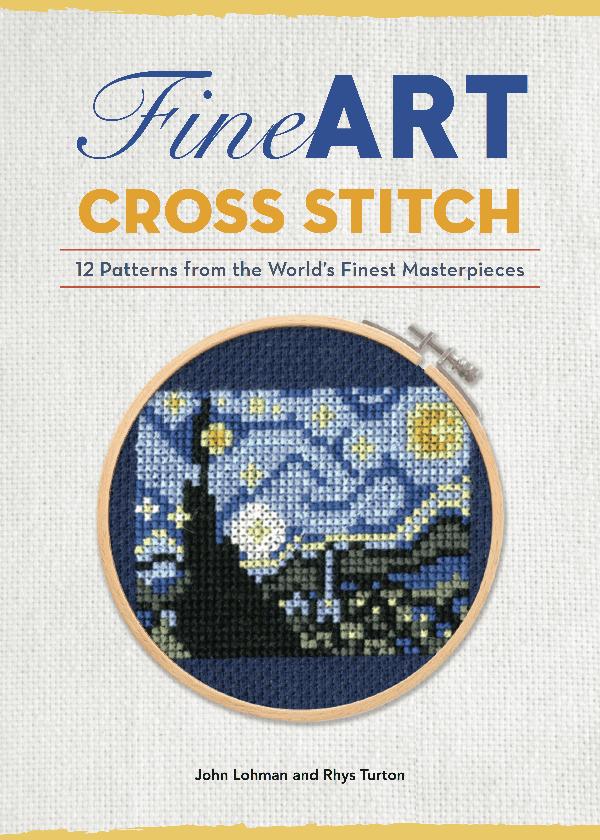 Fine Art Cross Stitch Book Cover 1