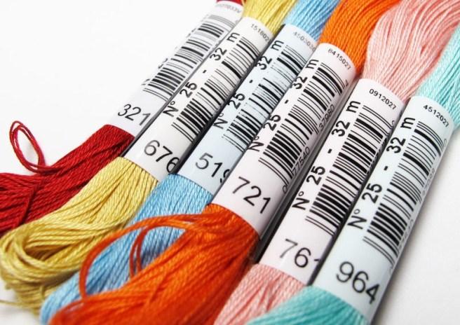 thread plastic rings