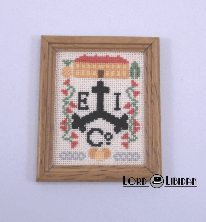 EIC Pirate Sampler cross stitch by Lord Libidan